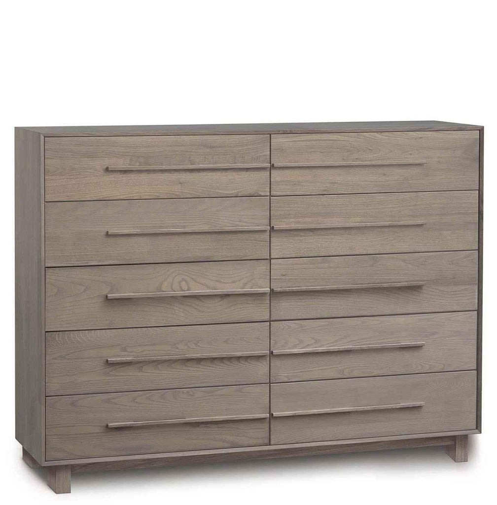 Sloane 10 Drawer Wide Dresser in Ash - Urban Natural Home Furnishings.  Dressers & Armoires, Copeland