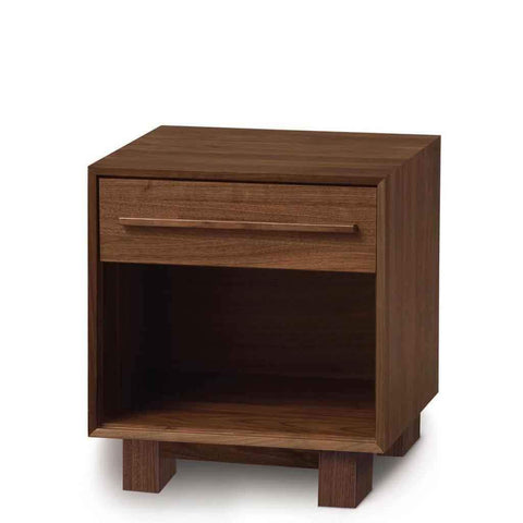 Sloane One Drawer Nightstand in Natural Walnut - Urban Natural Home Furnishings.  Nightstands, Copeland