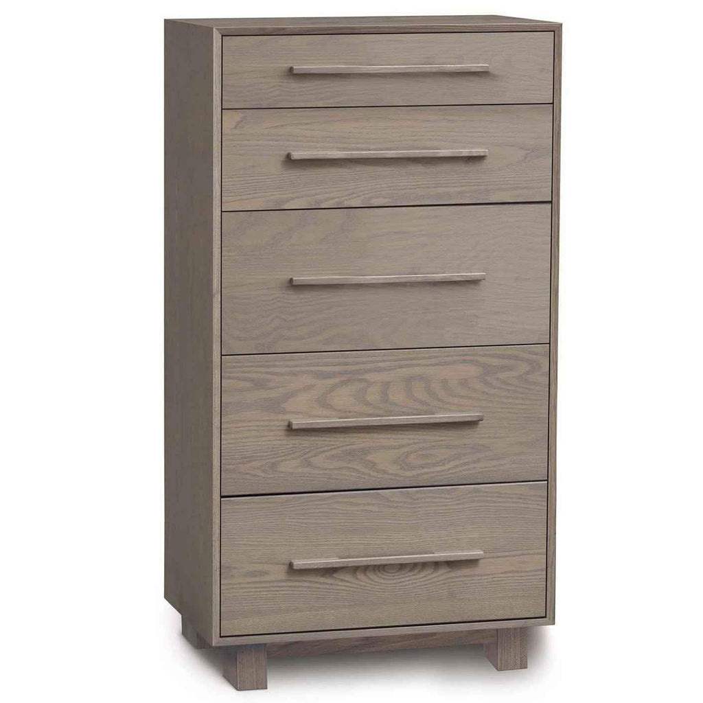 Sloane Five Drawer Narrow Dresser in Ash - Urban Natural Home Furnishings.  Dressers & Armoires, Copeland