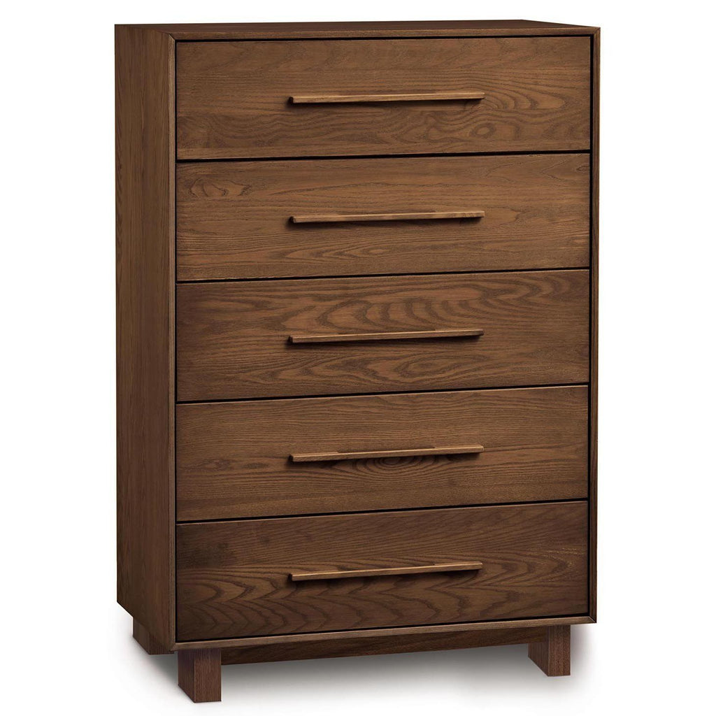 Sloane Five Drawer Wide Dresser in Natural Walnut - Urban Natural Home Furnishings.  Dressers & Armoires, Copeland