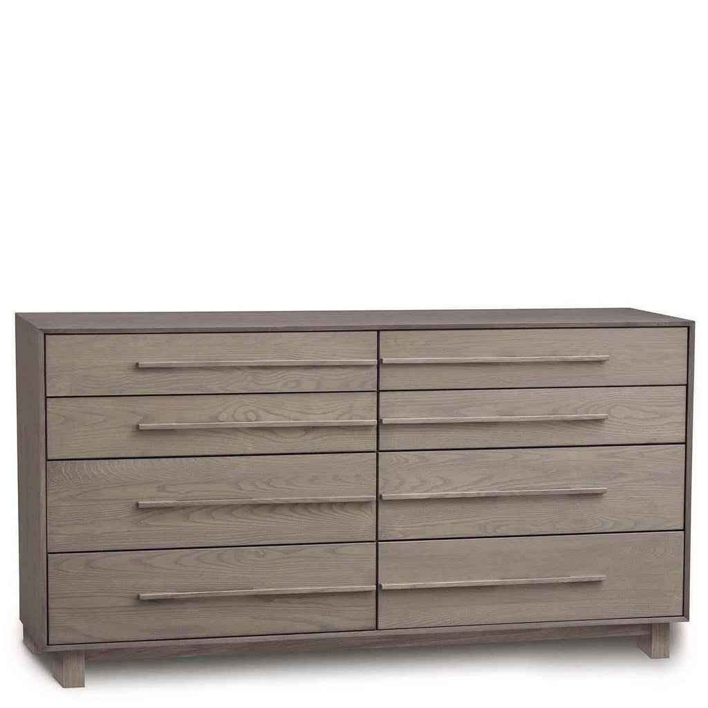 Sloane Eight Drawer Wide Dresser in Ash - Urban Natural Home Furnishings.  Dressers & Armoires, Copeland