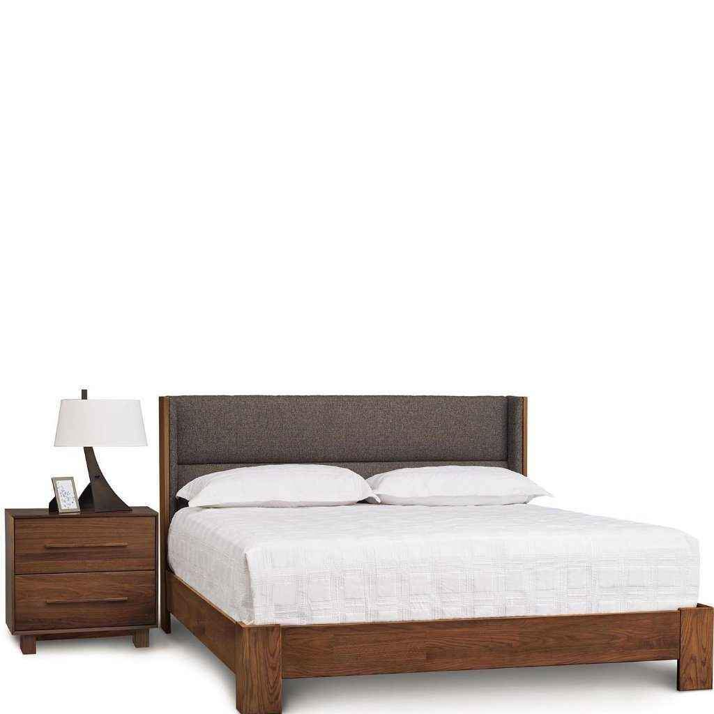 Sloane Bed With Legs For Mattress Only in Walnut - Urban Natural Home Furnishings.  Solid Wood Bed, Copeland