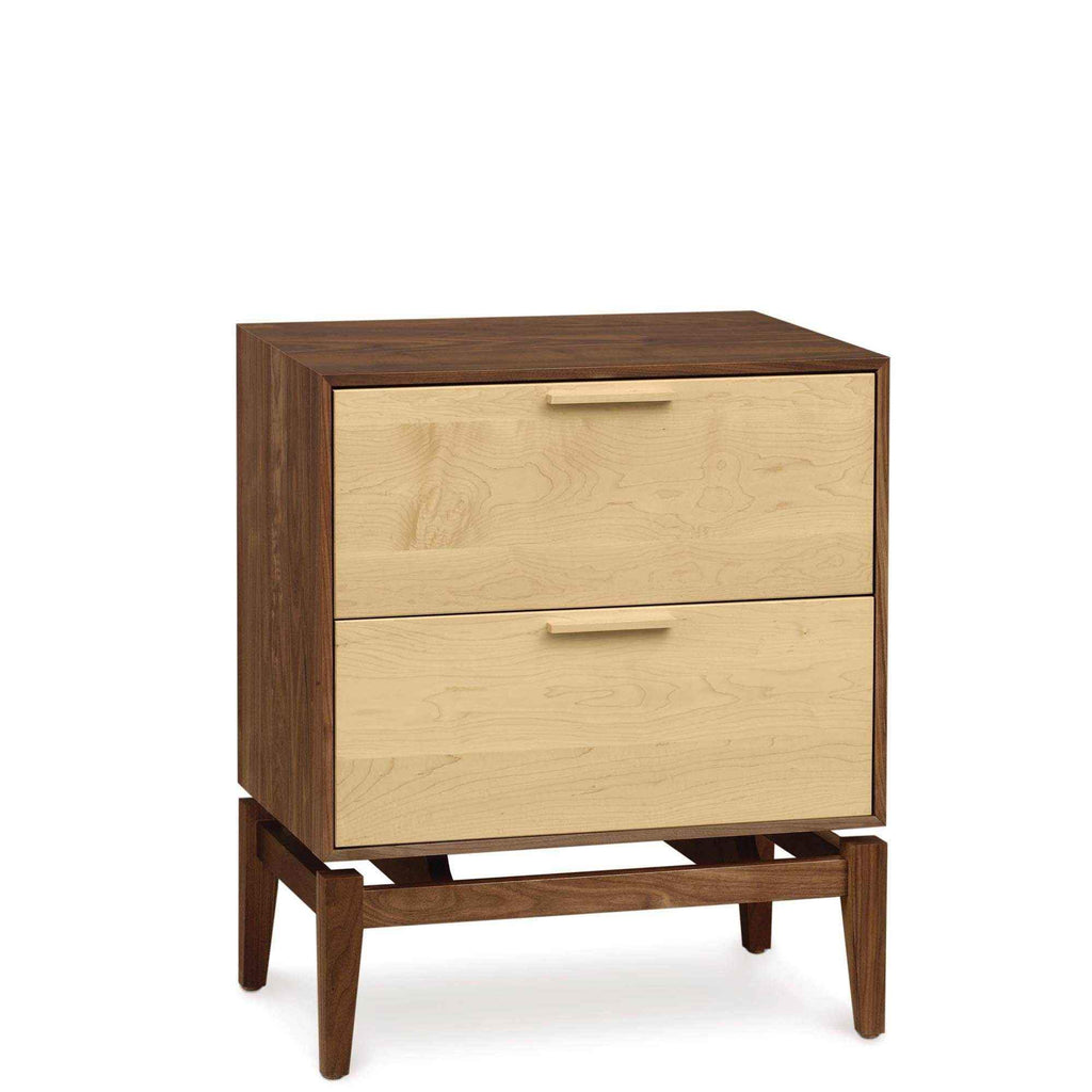Soho Two Drawer Nightstand by Copeland
