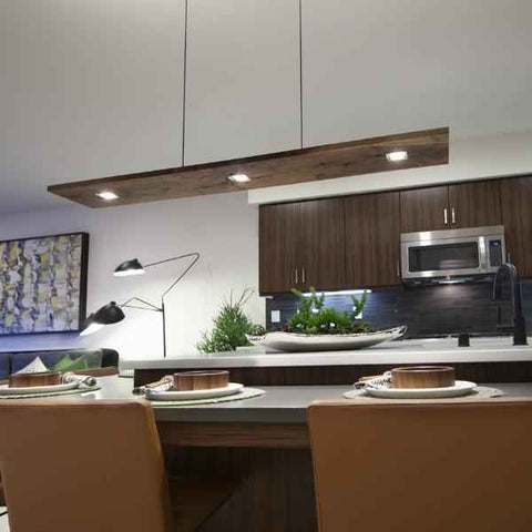 Vix Linear Pendant by Cerno