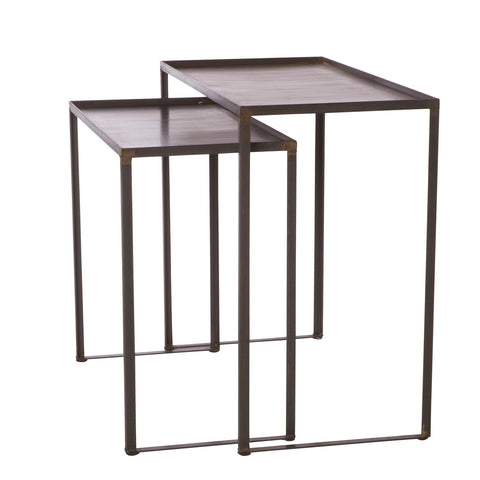 Welders Nesting Table by Cisco Brothers