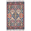 Zharah Hooked Area Rug in Denim / Multi by Loloi