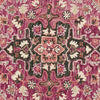 Zharah Hooked Area Rug in Raspberry / Taupe by Loloi