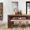 Zharah Hooked Area Rug in Santa Fe Spice by Loloi