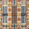 Zharah Hooked Area Rug in Santa Fe Spice Sample