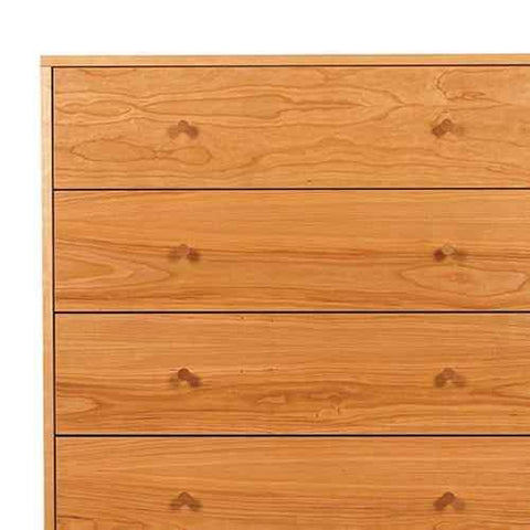 Asher Five Drawer Dresser by Spectra Wood