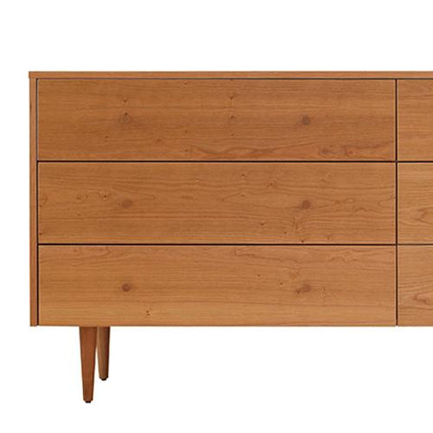 Asher Six Drawer Dresser by Spectra Wood