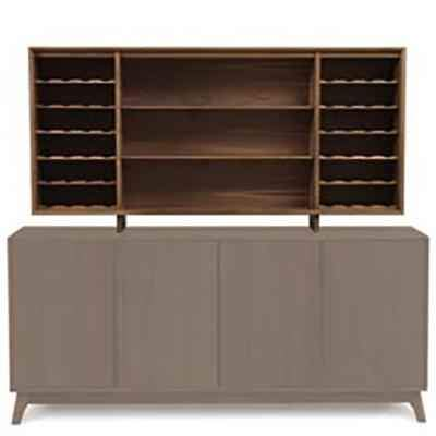 "Catalina 30"" Hutch in Walnut by Copeland"