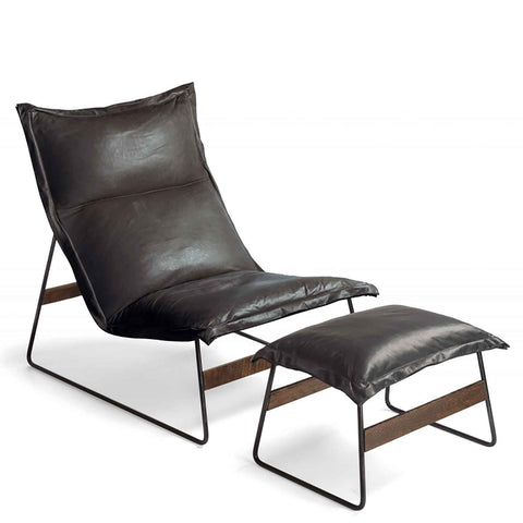 Drift Chair in Leather by Environment