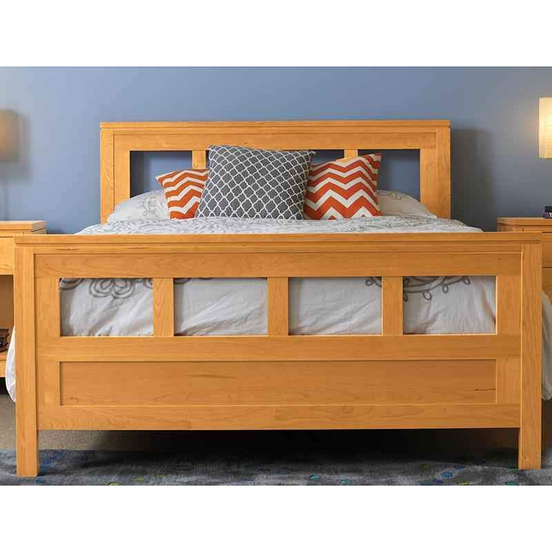 Franklin Bed in Natural Cherry