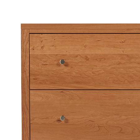 Kingston 2 Drawer Lateral File Cabinet by Spectra Wood