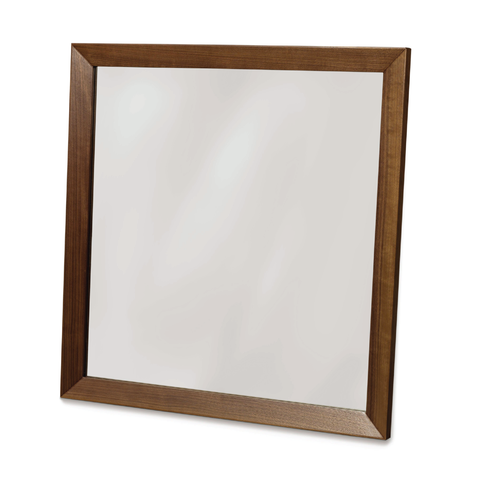 Copeland Wall Mirror in Walnut