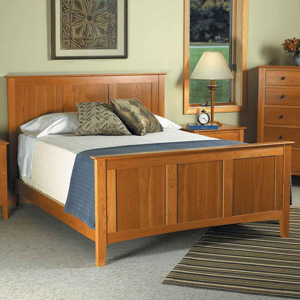 Newport Panel Bed by Spectra Wood