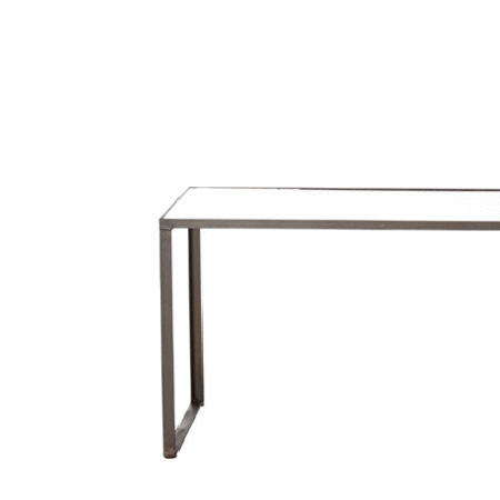 Preston Coffee Table with Mirror Top