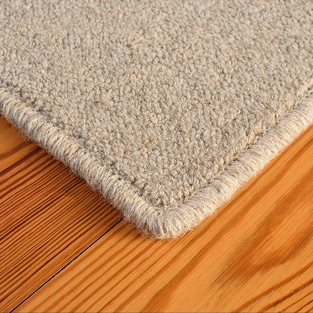 Rainier Wool Area Rug - Granite