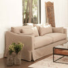 "Rebecca Slipcovered 84"" Sofa by Cisco Brothers"