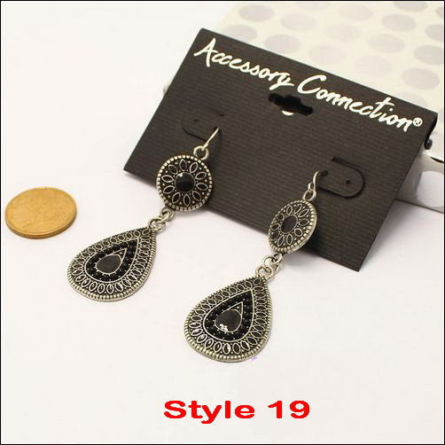 Vintage Fashion Earrings - Ashlays - 11