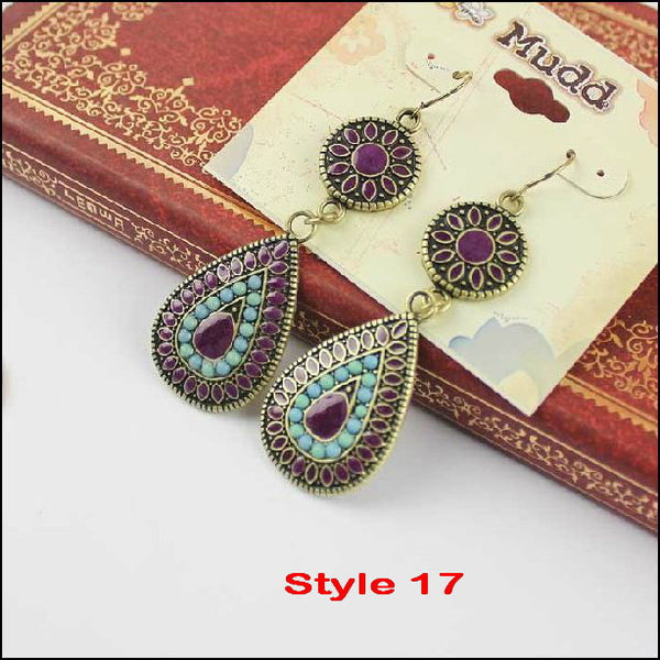 Vintage Fashion Earrings - Ashlays - 2