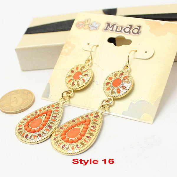Vintage Fashion Earrings - Ashlays - 19