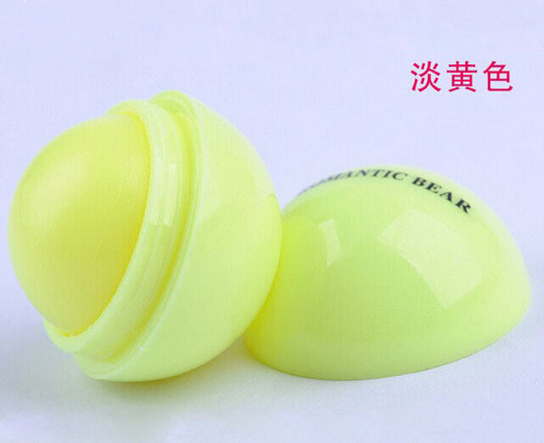 Makeup Natural Plant Sphere Lip Pomade Lip Balm Lipstick 6 Colors - Ashlays - 2