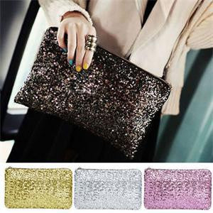Shiny Sequins Women Day Clutch - Ashlays - 1