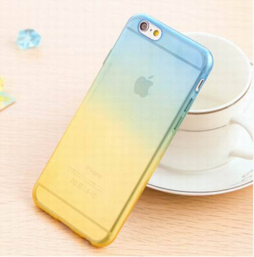 Transparent Skin Protective Phone Cases for iphone 5 Gradient Clear Back Cover For Apple Iphone 5 5S - Ashlays - 2