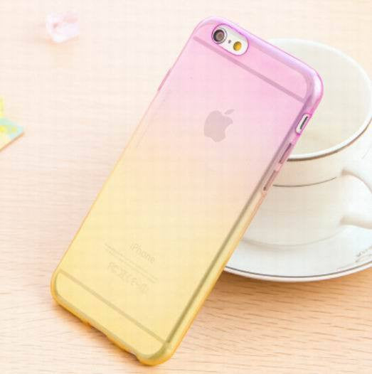Transparent Skin Protective Phone Cases for iphone 5 Gradient Clear Back Cover For Apple Iphone 5 5S - Ashlays - 5