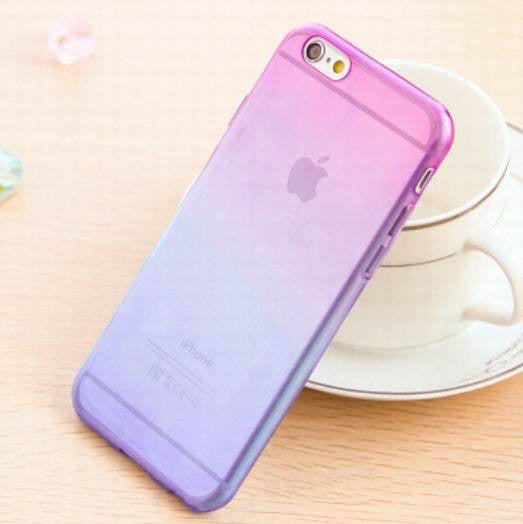 Transparent Skin Protective Phone Cases for iphone 5 Gradient Clear Back Cover For Apple Iphone 5 5S - Ashlays - 4
