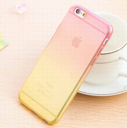 Transparent Skin Protective Phone Cases for iphone 5 Gradient Clear Back Cover For Apple Iphone 5 5S - Ashlays - 6