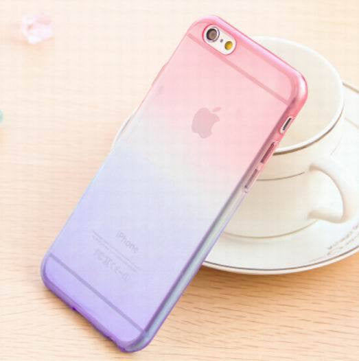 Transparent Skin Protective Phone Cases for iphone 5 Gradient Clear Back Cover For Apple Iphone 5 5S - Ashlays - 7