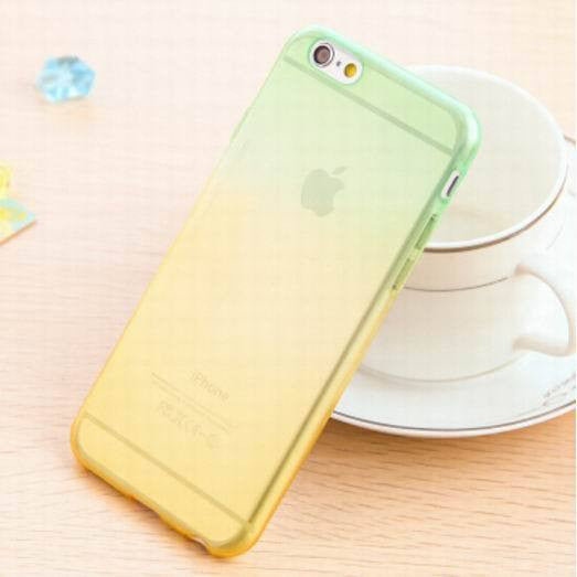 Transparent Skin Protective Phone Cases for iphone 5 Gradient Clear Back Cover For Apple Iphone 5 5S - Ashlays - 3