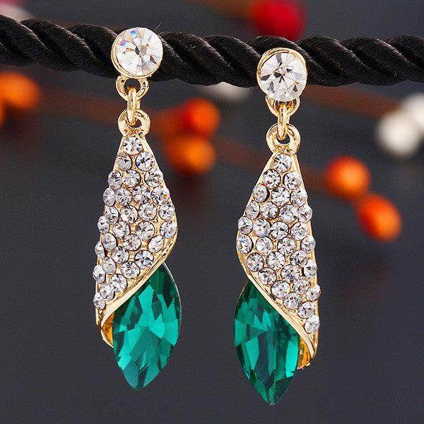 Luxury Brand Crystal Earrings - Ashlays - 2