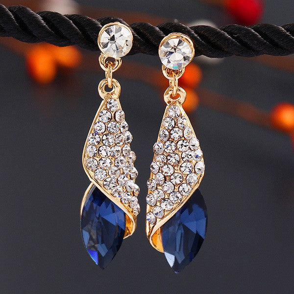 Luxury Brand Crystal Earrings - Ashlays - 5
