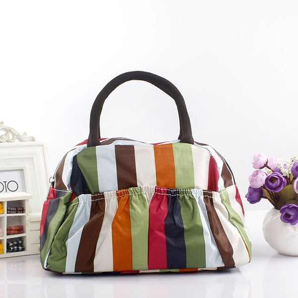 Pattern Lunch Bag Lunchbox Waterproof Neoprene - Ashlays - 7