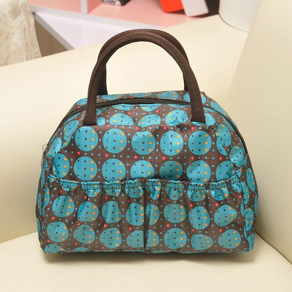 Pattern Lunch Bag Lunchbox Waterproof Neoprene - Ashlays - 8