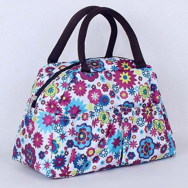 Pattern Lunch Bag Lunchbox Waterproof Neoprene - Ashlays - 2