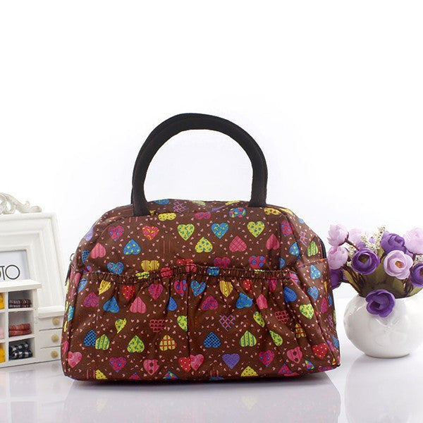 Pattern Lunch Bag Lunchbox Waterproof Neoprene - Ashlays - 4