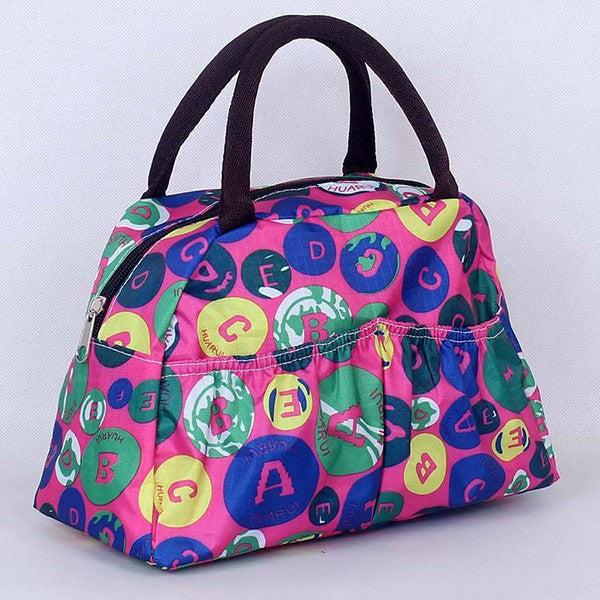 Pattern Lunch Bag Lunchbox Waterproof Neoprene - Ashlays - 13