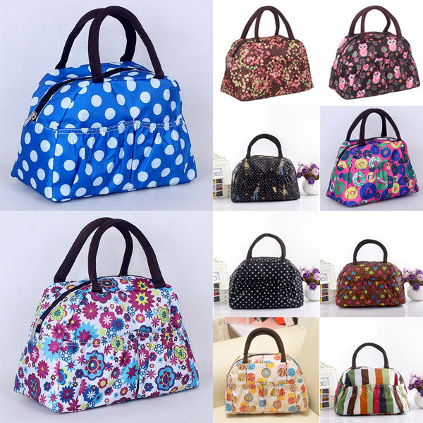 Pattern Lunch Bag Lunchbox Waterproof Neoprene - Ashlays - 1