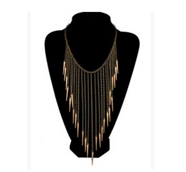 Vintage Tassel Punk Necklace - Ashlays - 3