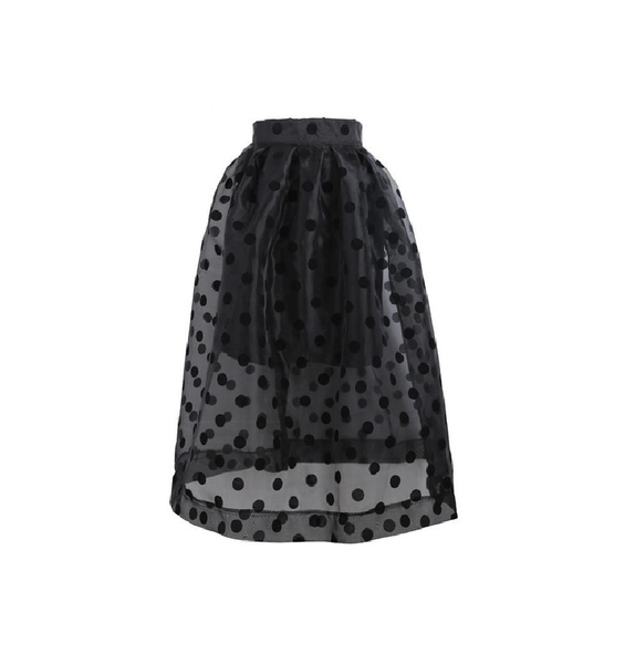 Polka Dots Ball Gown Skirt - Ashlays - 2
