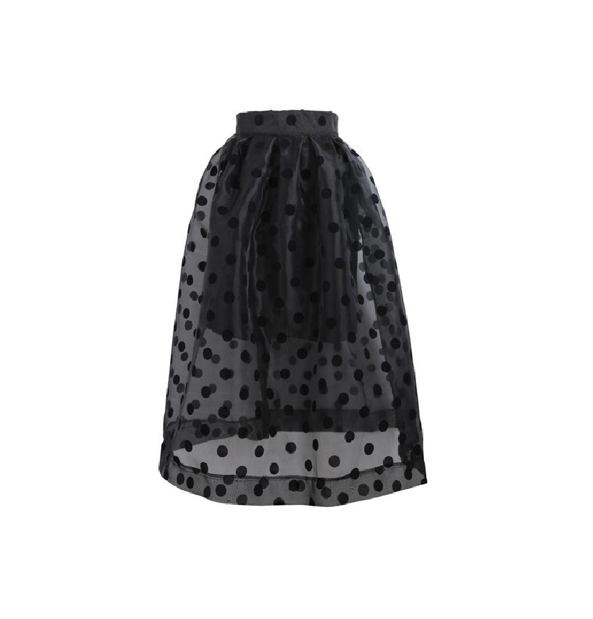 Polka Dots Ball Gown Skirt - Ashlays - 1