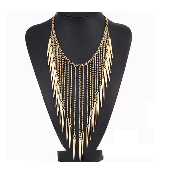 Vintage Tassel Punk Necklace - Ashlays - 1