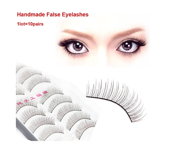 Plastic Black Eyelashes - Ashlays - 1