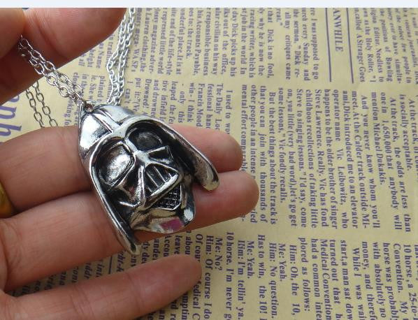Star Wars Darth Vader Helmet Necklace - Ashlays