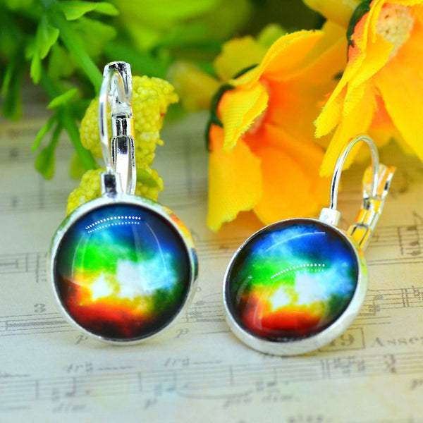 Galaxy Earring Space Earrings Unique Girl Gift - Ashlays - 4